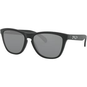 Oakley Frogskins Sonnenbrille matte black/prizm black polarized